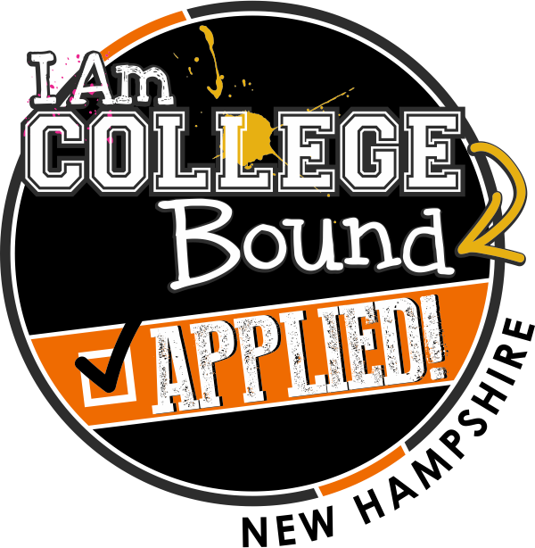 I Am College Bound I Applied New Hampshire #collegeboundnh