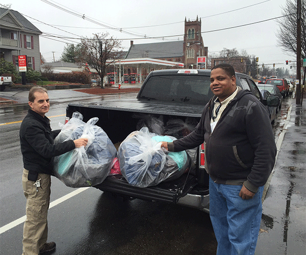 Nov. 2015 - Open Hands Winter Clothing Drive